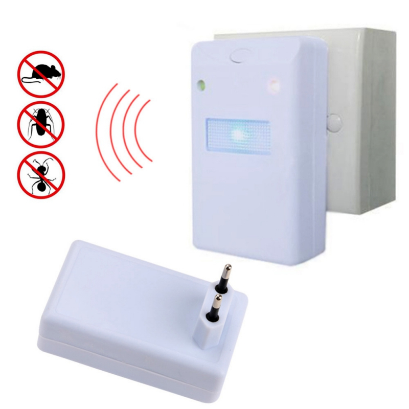 Ultrasonic Electronic Repeller Pest Control Drives Away Animals With Flashlight Outdoor Insect Repellent Pakistan