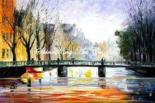 palette knife oil painting  modern oil painting canvas oil painting K281