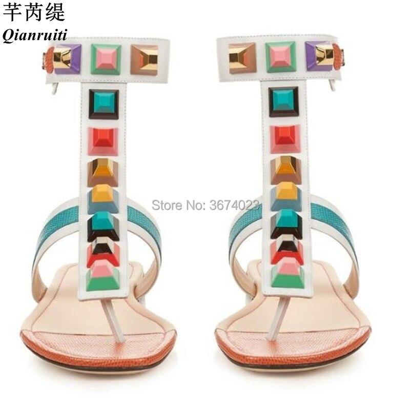 Planos Qianruiti 2 En Con Femenina Arcoíris Color 4 Multicolores T 2DIYWEH9