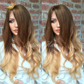 High 8A Grade Two Tone Ombre Human Hair Wig Full Lace Human Hair Wigs For Black Women Ombre Lace Front Human Hair Wigs
