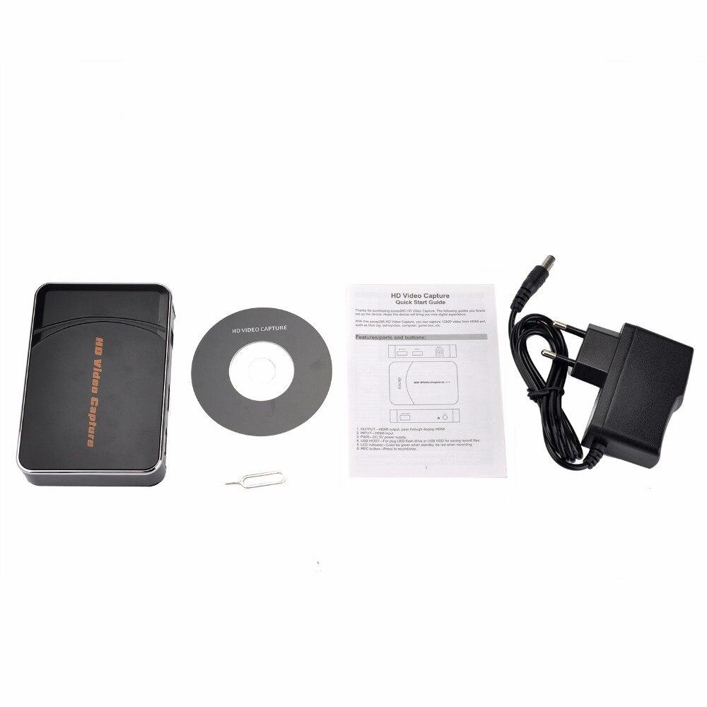 EZCAP 280HB HDMI Vidéo Capture, Capture 1080 P Vidéo De HDMI lecteur Blue Ray, tv box, ordinateur, boîte de jeu, etc, avec Mic Microphone