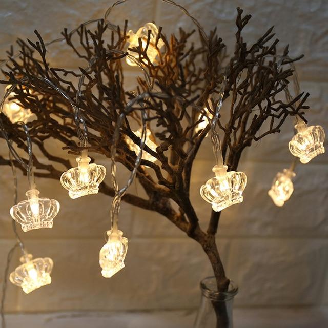 diy lighting wedding. Modren Lighting Novelty DIY Crown Lights StringGirl Fairy Led String LightWedding  Festival Party Holiday Intended Diy Lighting Wedding