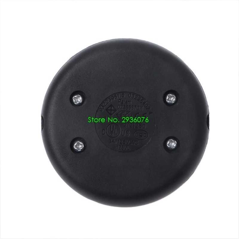 2018 Новый ножной Педальный кнопочный переключатель Inline лампа светодиодный индикатор включения-выключения переключатель освещения поддержка