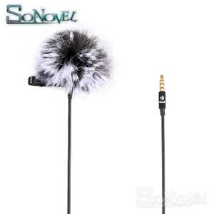Image 2 - YC LM10 Phone Audio Video Recording Lavalier Condenser Microphone for iPhone 8 7 6 5 4S 4 ipad Huawei Sumsang Xiaomi Type C