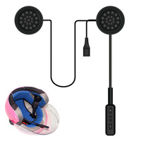 New Motorcycle Helmet Headset Bluetooth Intercom Headset Wireless Helmet Heap Headphones For Phone CSL2017