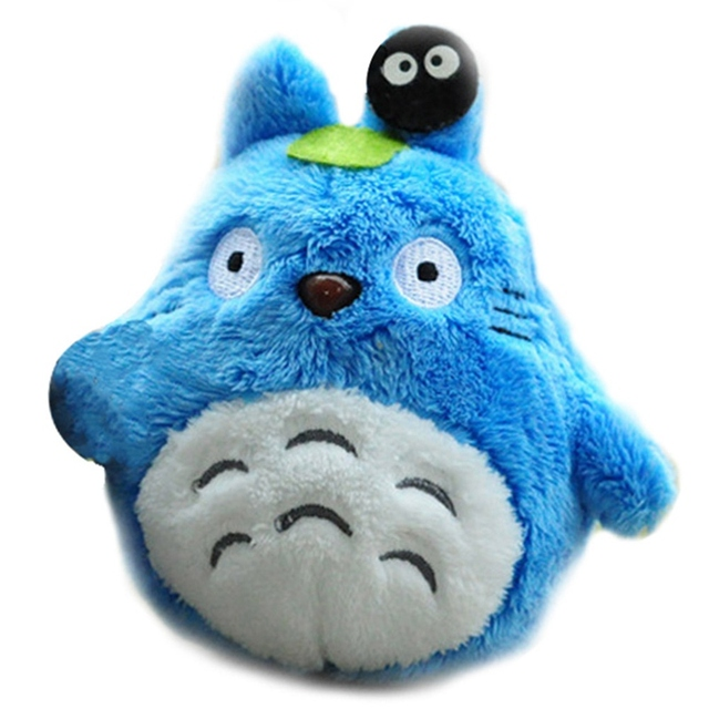 Mini Meu Vizinho Totoro Plush Toy New Kawaii Anime Totoro Keychain Brinquedo de Pelúcia Totoro Boneca de Brinquedo de Pelúcia Para Presente Das Crianças