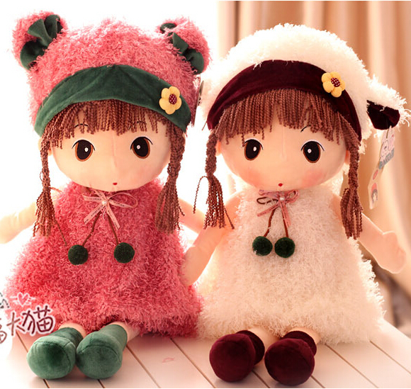Philippines Son Doll Large Cute Girl Plush Toy Children Birthday Gift Christmas Free Shipping
