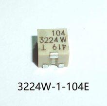 Nova Trimmer Potenciômetro 3224W-1-101E 102E 103E 104E 201E 202E 203E 204E 501E 502E 503E 504E