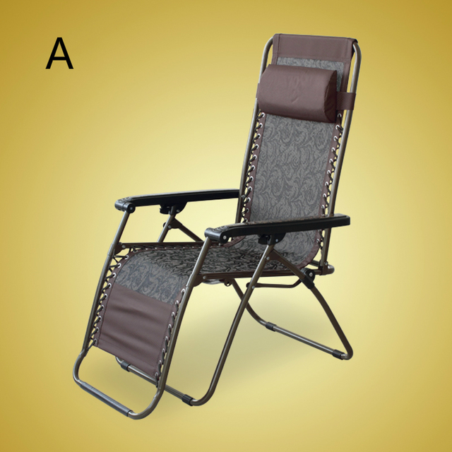 High Quality Exquisite Elegant Reinforced Chair Folding Easy Leisure Lazy Chair Beach Outdoor Balcony Sun Lounge Portable Chair