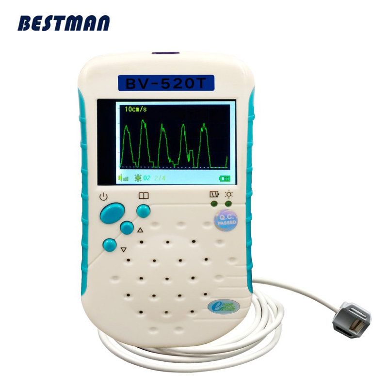 Unbidirection veterinary vascular doppler medical veterinaria vascular doppler detector Waveform Mode Honey Pet Doppler vet doppler 74660 fgc