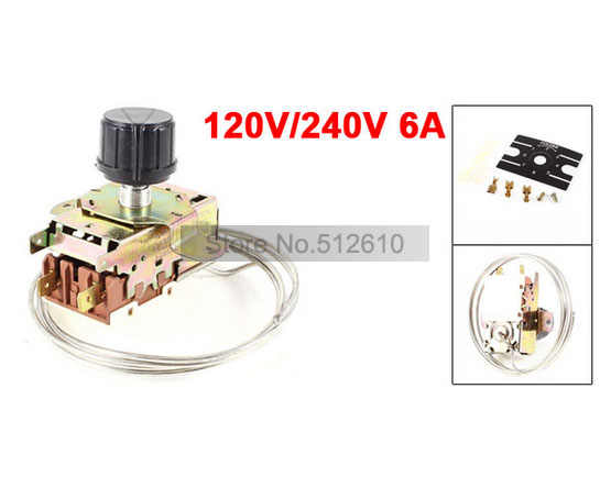 Fridge Freezer Thermostat Mechanical Thermostat Refrigerator Thermostat K50-P1127-001 Universal Accessories