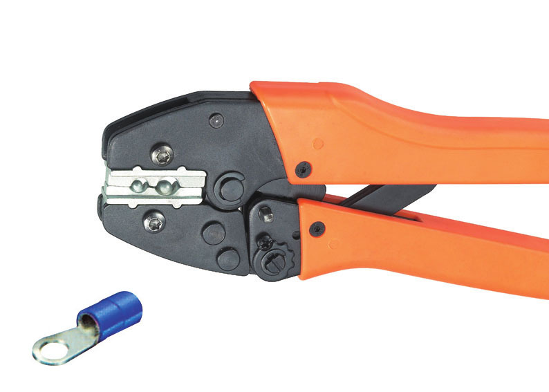ФОТО Ratchet crimping plier 10,16mm2  AWG7-5 Dedicated cable connector crimping tool