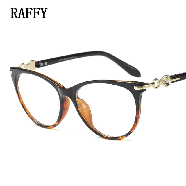 RAFFY Vintage Eyeglass Women Frame Myopia Optical Eyewear Frames ...
