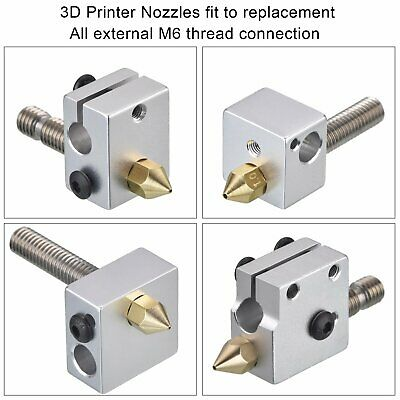 Image 4 - 24 Pcs/lot 3D Printer Nozzles Nozzle, Extruder Print Head, 0.2/0.3/0.4/0.5/0.6/0.8/1.0mm