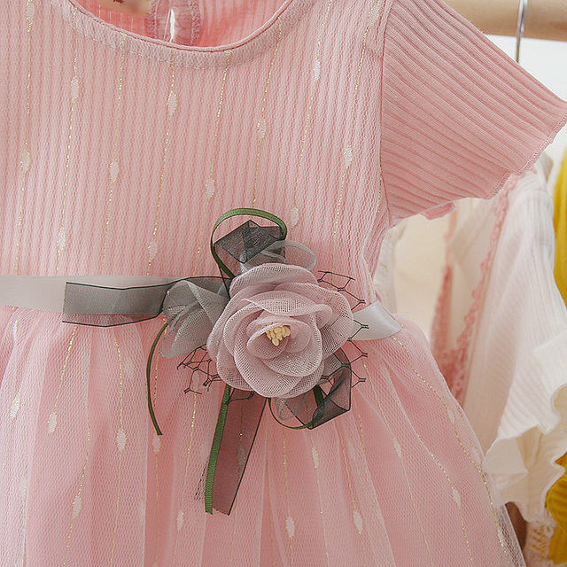 Newborn Baby Girl Dress for Girl 1 Year Birthday Dress 2019 New Fashion Cute Princess Baby Dress Infant Clothing Toddler Dresses 5