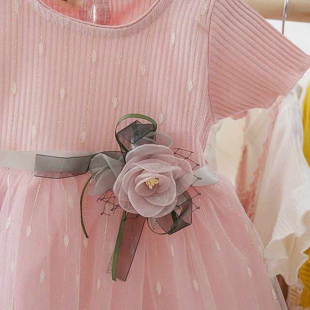 Recién Nacido bebé vestido de niña para chica 1 año vestido de cumpleaños 2019 nueva moda lindo bebé ropa para bebés vestidos de niño