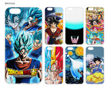BINYEAE Dragon Ball z goku DragonBall Super Styles TPU Silicone Case Cover Coque for iPhone SE 6 6S 5 5S Plus Back Cover Shell(China)