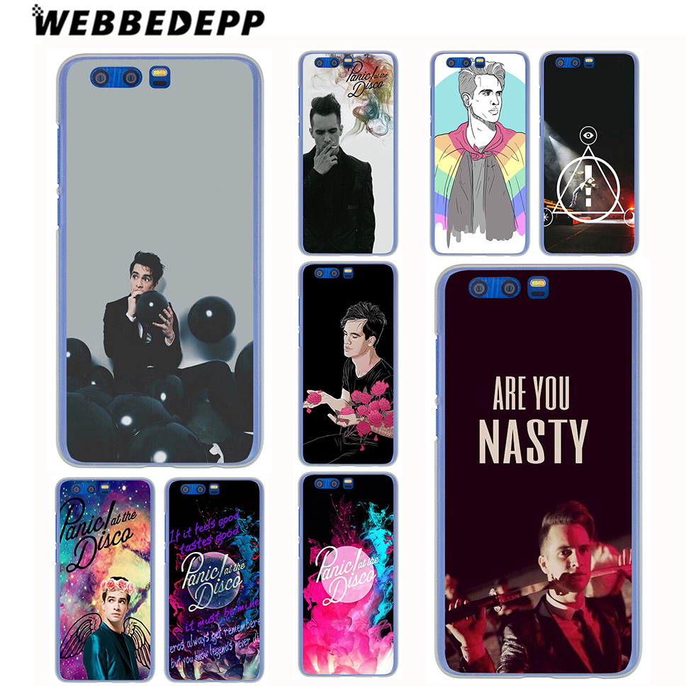 WEBBEDEPP Panic At The Disco Case for Samsung Galaxy A8(Plus)A7 A5 A3 2018 2017 2016 2015 & Grand Prime Note 8 5 4 3
