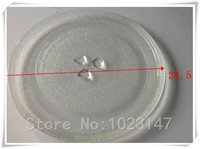 Free Shipping To Europe 24 5cm Microwave Oven Glass Plate For Galanz Midea Haier Etc Microwave