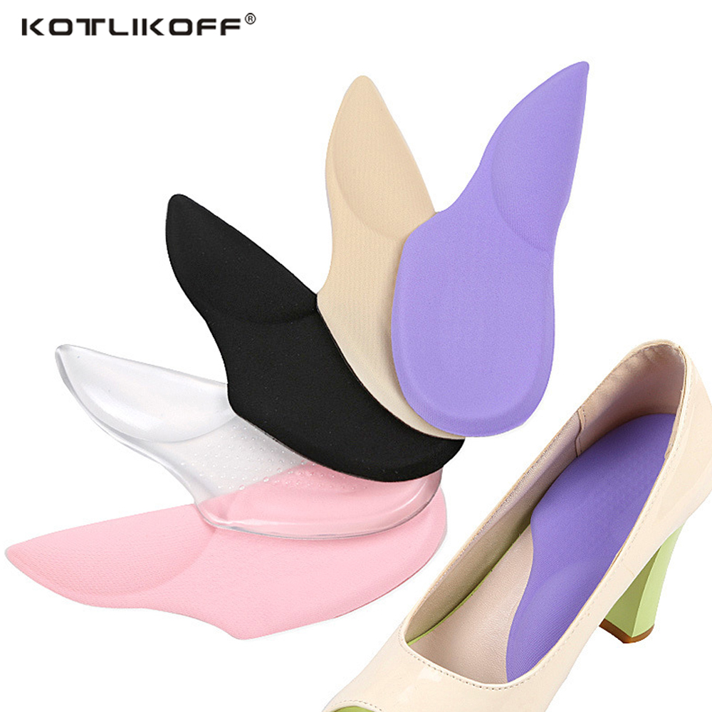 все цены на KOTLIKOFF 3/4 Orthopedic Arch Supports Shoe Insoles Heels Pads for High Heel Shoe Liners Gel Inserts Pain Relief palmilha Insole