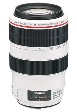 Nuevo Canon EF 70-300mm f/4-5,6 L es USM lente teleobjetivo