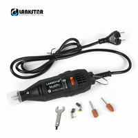 High Quality LANXSTAR Brand Dremel Style Grinder DIY Hand Electric Drill Accessories Variable Speed Rotary Engrave Grinders