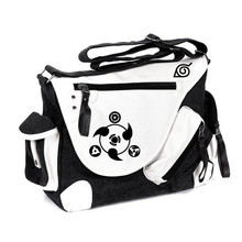 New Fashion Hot Sale Naruto Printing Vintage Women Men Messenger Bags Canvas Business Shoulder Bag Students
