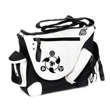 New Fashion Hot Sale Naruto Printing Vintage Women Men Messenger Bags Canvas Business Shoulder Bag Students Travel Bags