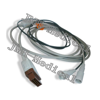 Compatibility GE-Marqutte monitor the 2025248-002 or 001 Cardiac Output cable,2.7m GE CO wire.