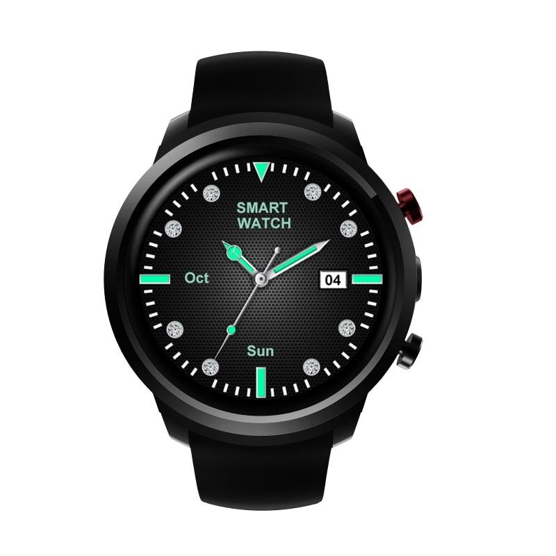 696 Z18 Smart Watch MTK6580 ROM8GB/RAM512MB support 3G Heart Rate WiFi цена