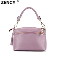 2017 First Layer Genuine Leather Women Handbags Ladies Real Top Layer Casual Leather Female Ladies Messenger