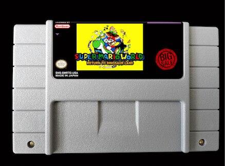 16Bit игры ** supermarioed мира вернуться к земля динозавров (версия для США!)