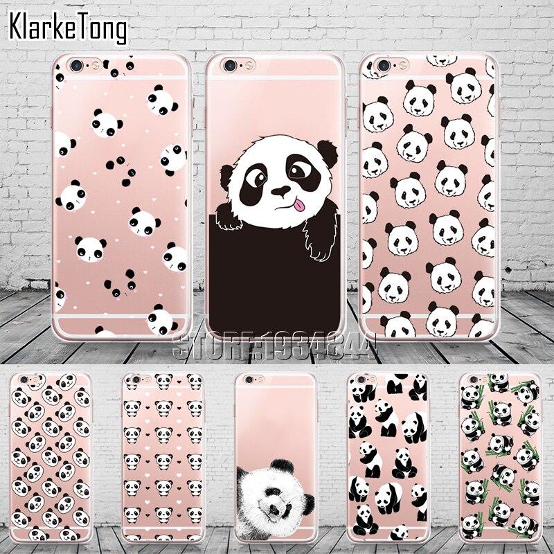 ჱlucu Kartun Hewan Panda Kasus Untuk Iphone X Se 5 5 S 6 6 S 7 8