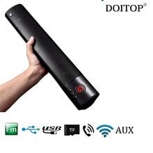DOITOP Portable Sans Fil Bluetooth Haut-Parleur Mega Bass Haut-Parleur Subwoofer Stéréo Haut-Parleur Mains Libres Appels Support SD/TF Carte FM