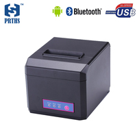 3inch Android thermal receipt printer with cutter printing 58&80mm width bill POS printer use linux, win10 impresora HS E81UA