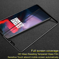 For Oneplus 6 tempered glass film Imak pro+ version screen protector full coverage fullscreen Protective glass for Oneplus6