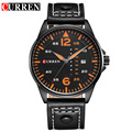 CURREN Watches Men Brand Date Week Leather Strap Men Fashion Casual Quartz Watch Men Sports Watches Clock Relogio Masculino 8224