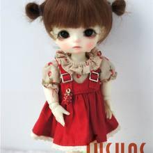 JD415 1/8 1/6 1/4 милые два пони BJD mahair парики Размер 5-6 дюймов 6-7 дюймов 7-8 дюймов кукольные волосы модные кукольные аксессуары