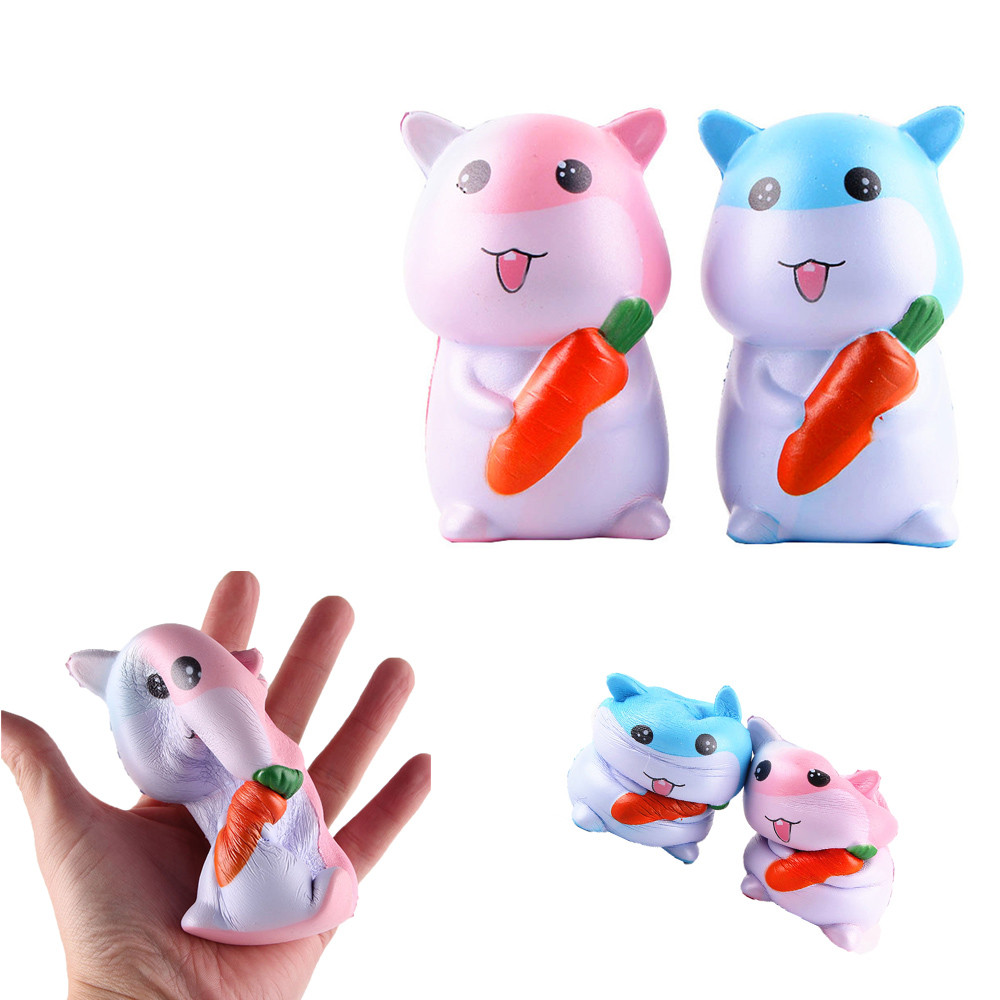 Squishy Oyuncak antistress Spongy squishi Hamster Squeeze Toy Squishy Slow Rising Decompression Squeeze Toys fun toy