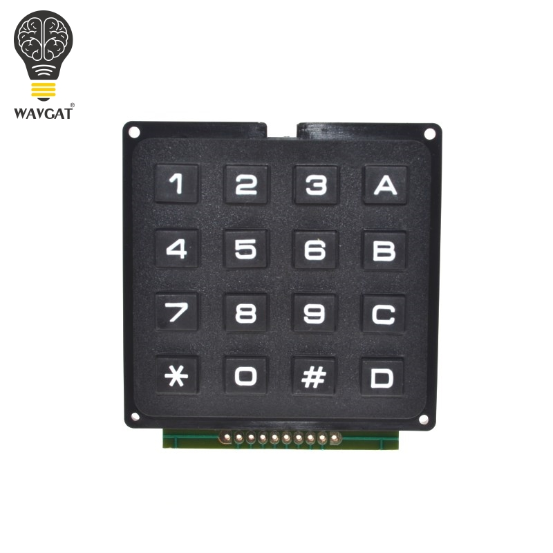 4x4 Matrice Keypad Keyboard Clavier Module 16 touches 8 DEL Pour Arduino