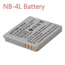 1000mAh NB-4L NB4L NB 4L Li ion Battery Bateria for Canon IXUS 30 40 50 55 60 65 80 100 PowerShot SD1000 1100 Camera Batteries