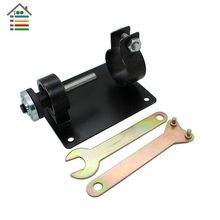 AUTOTOOLHOME Electric Drill Cutting Seat Stand Machine Bracket Set with Connecting Rod Wrench Gaskets Power Tools Parts