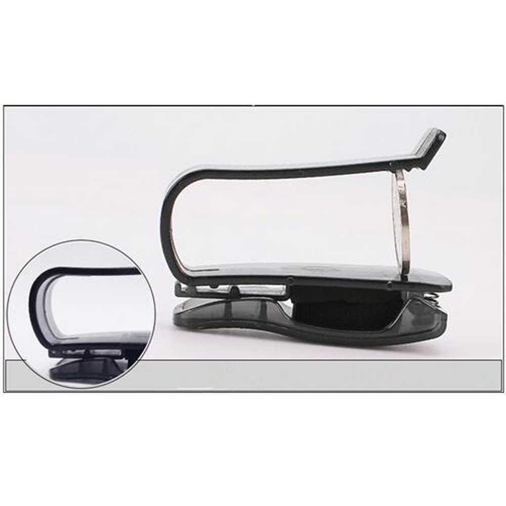 Coche visera gafas de sol titular billete Clip para Audi A1 A2 A3 A4 A5 A6 A7 A8 B5 B6 B7 b8 C5 C6 Q2 Q3 Q5 Q7 TT S3 S4 S5 S6 S7 S8