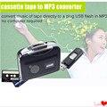 Captura cassete USB Player, Tape para PC, Super Portátil USB Cassette to MP3 Converter Captura com Pacote de Varejo Frete Grátis