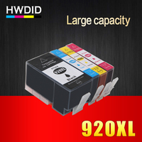 4psc HP 920 920XL BK C M Y Full Compatible Ink Cartridge For HP Officejet 6000