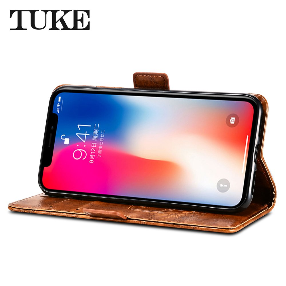 Phone Bags & Cases For Alcatel Pop 4 Plus 5056d Case Leather Silicone Vintage Stand Flip Genuine Phone Case For Alcatel Pop 4 Plus Covers Funda 5.5 For Sale