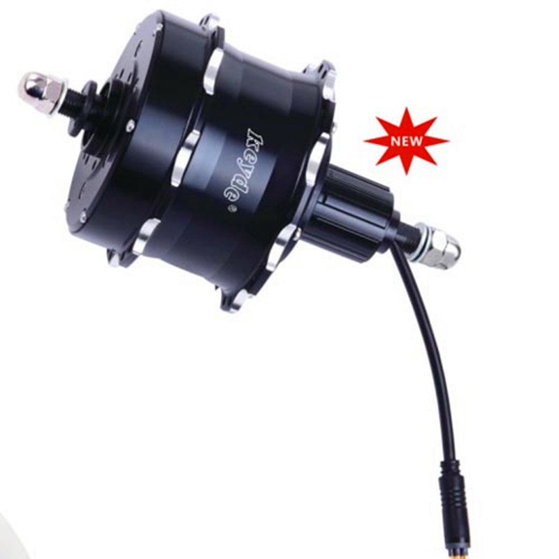 2.3Kg Max 24V/33V/36V 500W Built-in controller disc brake cassette rear hub motor for electric bike&electric bicycle