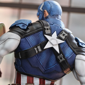 Image 5 - Estatua de PU del Capitán América, 21 pulgadas, 53cm x 25cm x 28cm