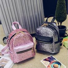 Womens Leather Backpack Children Backpacks Fashion Ladies Schoolbag for Teenagers Girls Female Backbag Mini Bagpack goodquality