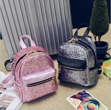 Women's Leather Backpack Children Backpacks Fashion Ladies Schoolbag for Teenagers Girls Female Backbag Mini Bagpack goodquality